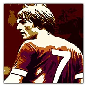 Kenny Dalglish Liverpool Fc Iconic Large Canvas Art Print - Framed And Ready To Hang from ICONIC2010