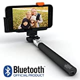 SELFIE WORLD⢠Selfie Stick/Monopod - Top Quality Official Bluetooth Product - iPhone 5/5s/5c/6/6+ Plus, Samsung Galaxy S3/S4/S5/S6 Edge, Note 2/3/4, Google Nexus 4/5, LG G2, Sony Xperia Z1/Z2/Z3 & All iOS 5.0+/Android 4.0+ Wireless Compatible Cellphone