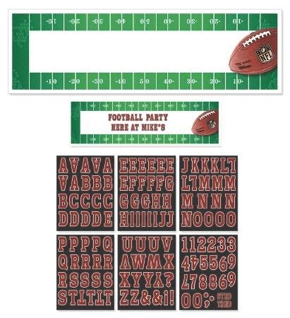 giant customizable banner - nfl drive