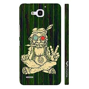 Huawei Honor 3x Ganja Baba 3 designer mobile hard shell case by Enthopia