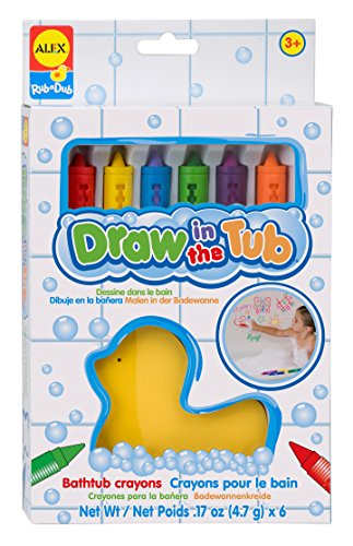 ALEX Toys Rub a Dub Draw in the Tub Bath Crayons - 1