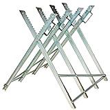 TecTake® Holzsägebock für Kettensäge Holzspalter Brennholz Sägegestell Sägenständer