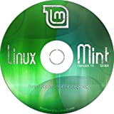 Linux Mint 13 DVD [32-bit versions] with both MATE and Cinnamon
