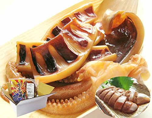 日本海で水揚げされたイカを使った【イカわたルイベ漬】&【いかのふっくら焼】セット