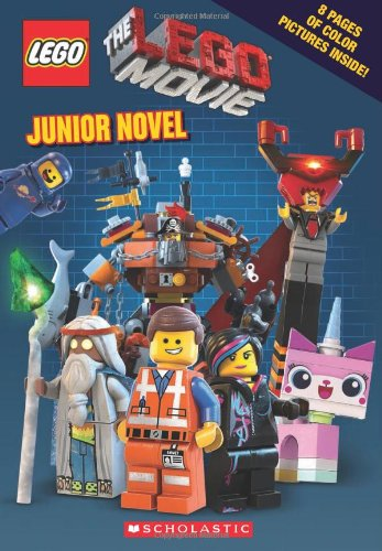 Book cover to 'The LEGO Movie: Junior Novelization'
