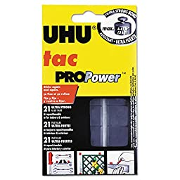 Saunders UHU Tac PROPower, 2.1 oz (50g), 21 pads (48680)