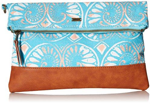 roxy-desert-sunrise-wallet-foldover-clutch-azulejos-sportwear-combo-blue-bird-one-size