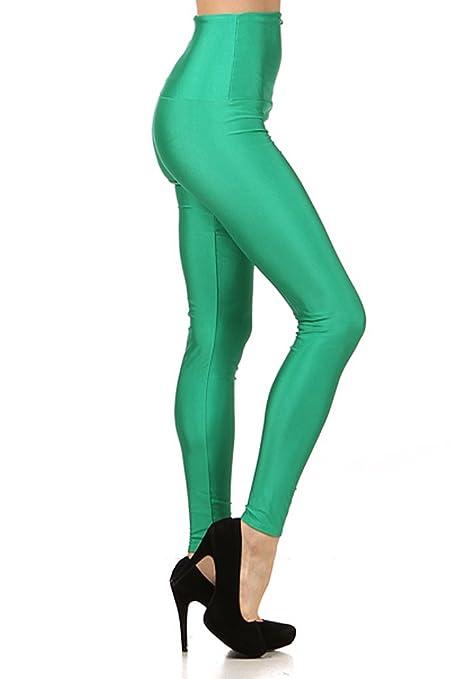 Kiwi Co. Women's Highlighter High Waist Nylon Leggings