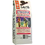 Larry's Beans Fair Trade Organic Coffee, Mama Nile Ethiopia, Whole Bean, 12-Ounce Bags (Pack of 3)