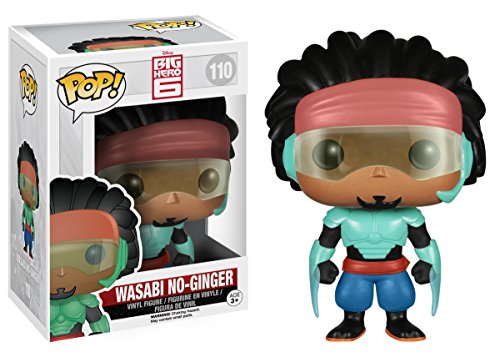 Funko POP! Disney: Big Hero 6-Wasabi No-Ginger Action Figure