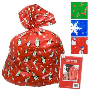 2 Giant Christmas Gift Bag 36x44