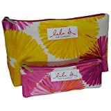 Clinique Lala Dk For Clinique Cosmetic Make Up Bag Duo Pack