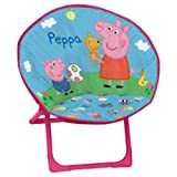 Peppa Pig - Sillón redondo, 50 x 50 cm (Arditex PP7823)