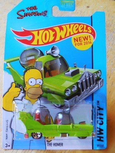 2014 Hot Wheels Hw City 89/250 - The Homer