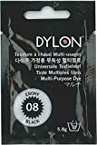 DYLON マルチ (衣類・繊維用染料) 5.8g col.08 エボニーブラック