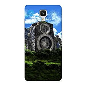 Mountain Range Speaker Back Case Cover for Xiaomi Mi 4