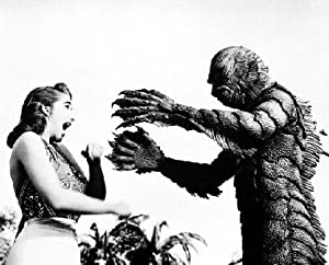 BEN CHAPMAN GILL-MAN, OUT OF WATER JULIE ADAMS KAY CREATURE FROM THE BLACK LAGOON 11X14 PHOTO