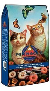 Pinnacle Peak Protein Chicken and Ocean Fish Grain-Free Cat Food, 15-Pound