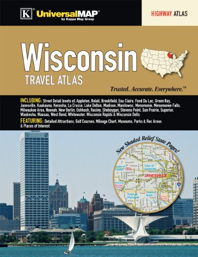 Wisconsin State Travel Atlas