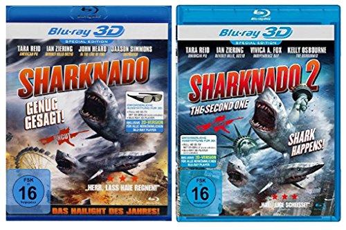 Sharknado 1+2 ( Real 3D Blu-ray ) ( Das Hailight des Jahres )