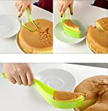 Fresh Lime 1 Piece Fine Quality Cake Cutter Slicer Tool For Cake Cutting & Serving