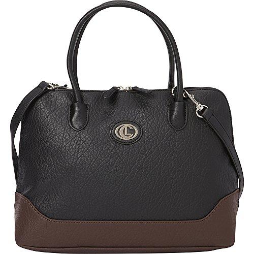 aurielle-carryland-romano-dome-satchel-black-brown