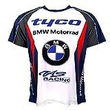 Tyco BMW British Superbike Racing Partout imprimé T-shirt officiel 2016...