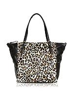 Tosca Blu Bolso shopping (Leopardo / Negro)