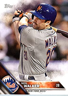 2016 Topps Team Edition #NYM-4 Neil Walker New York Mets Baseball Card