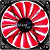 NEW! AeroCool Shark PC Case Cooling Fan Devil Red 120mm