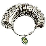 ノーブランド品 リング ゲージ 婚約 指輪 サイズ 測定 1号 ~ 33号 オシャレ 4種 (リング(単体)) NO.06