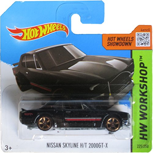 Hot Wheels Showdown, Hw Workshop Nissan Skyline H/T 2000Gt-x on Short card 225/250 - 1