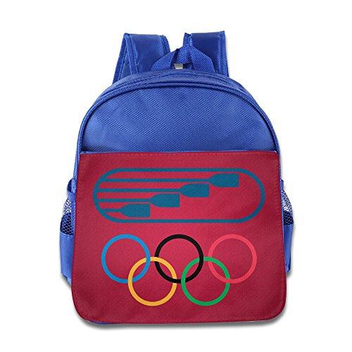 ANULRICA Boys Girls Toddler USA Rowing Team 2016 Rio Summer Olympics Brazi School Bag RoyalBlue