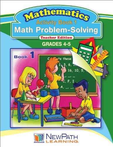 NewPath Learning Math Problem Solving Series Reproducible Workbook, Grade 4-5