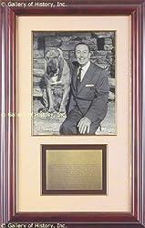 "Walter E. ""walt"" Disney - Inscribed Photograph Signed"