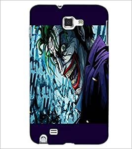 PrintDhaba Cartoon joker D-3283 Back Case Cover for SAMSUNG GALAXY NOTE 1 (Multi-Coloured)