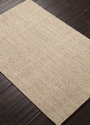 Naturals Solid Pattern Sisal Area Rug 5 Feet by 8 Feet Cork Edge