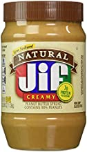 Jif Natural Creamy Peanut Butter Spread - 40 oz