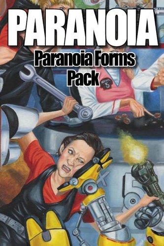 My paperwork on paranoia