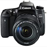 Canon-EOS-760D-242MP-Digital-SLR-Camera-Black-with-18-135-STM-Lens-Memory-card-Camera-Bag