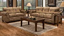 Hot Sale Lodge Sofa Color: Wild Horses