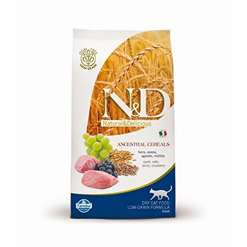 Farmina (Russo Mangimi) - Natural & Delicious Low Ancestral Grain Adult con Agnello e Mirtillo Sacchetto 300,00 gr