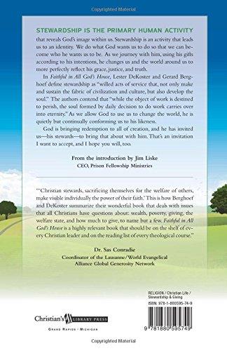 Faithful in All God's House: Stewardship and the Christian Life