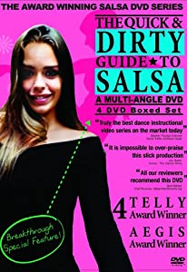 The Quick & Dirty Guide to Salsa - 4 DVD Boxed Set