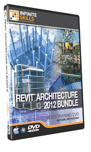 Infinite Skills Revit Architecture 2012 Bundle - Beginner to Advanced Training DVD (PC/Mac)