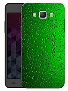 "Humor Gang Bubbles In Green Printed Designer Mobile Back Cover For ""Samsung Galaxy E7"" (3D, Matte, Premium Quality Snap On Case)"