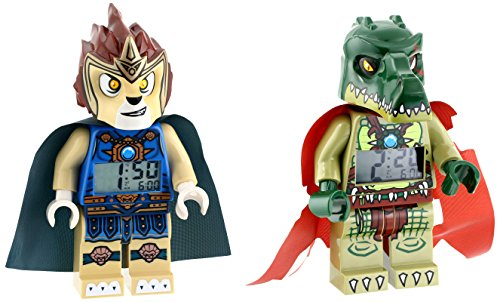 LEGO 乐高  Legends of Chima Laval and Cragger 9009525 闹钟套装 $30.24+$9.49直邮中国(约¥250)