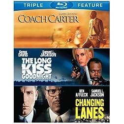 Samuel L Jackson: Triple Feature [Blu-ray]