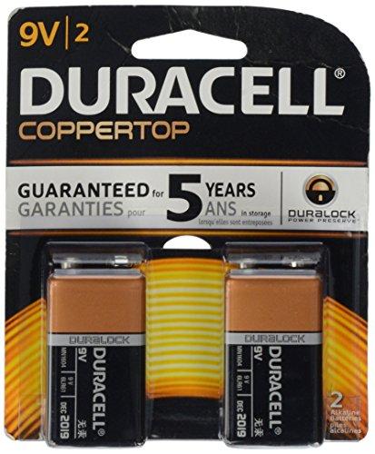 Duracell Alkaline Battery 9 V Card 2