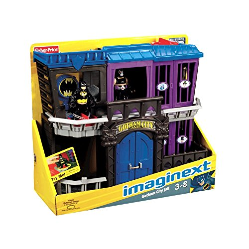 Amazing DC Super Friends Batman Imaginext Gotham City Jail b